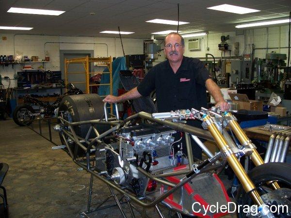 Larry Spiderman McBride New Bike