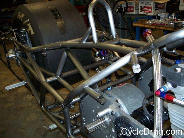 Larry McBride New Bike Top Fuel
