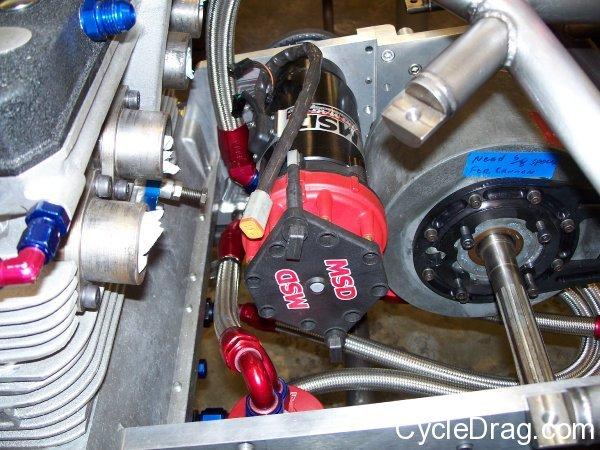 Spiderman Top Fuel Motor