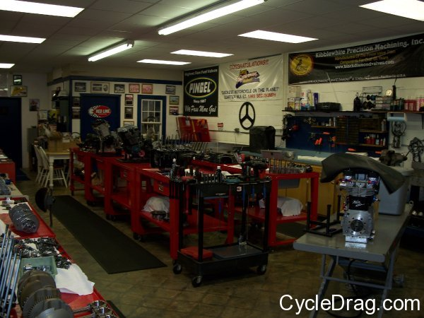 Larry McBride Top Fuel Motors