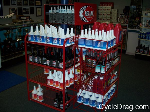 Red Line Oil Display