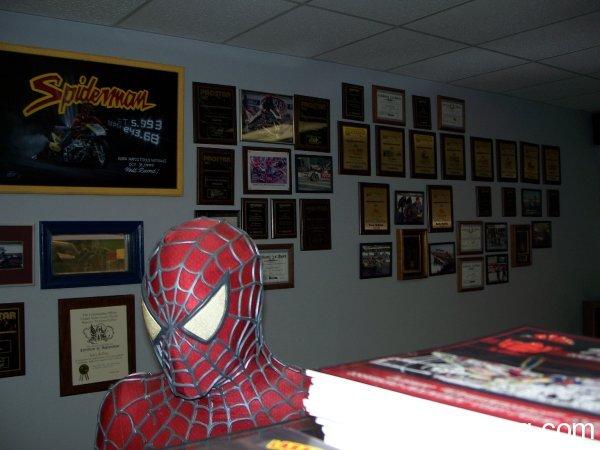 Larry McBride Winner's plaques