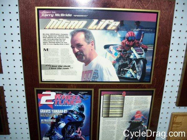 Larry McBride, 2 Wheel tuner article