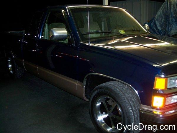Larry Spiderman McBride truck