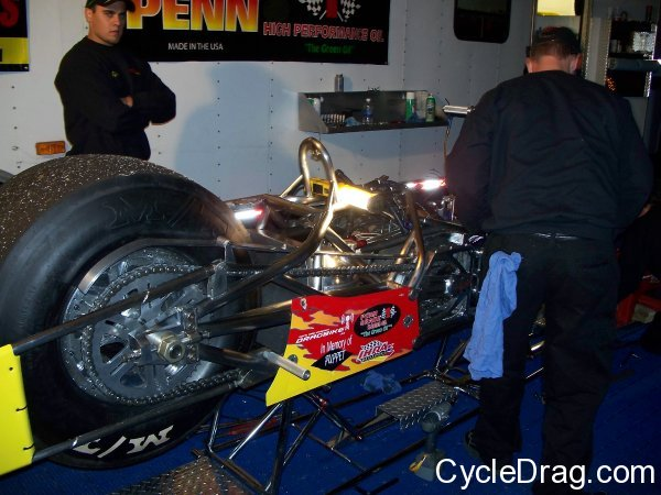 Greg Pollard Top Fuel Motorcycle
