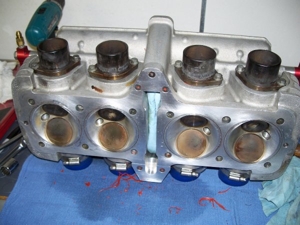Top Fuel Motorcycle Cylinder Head