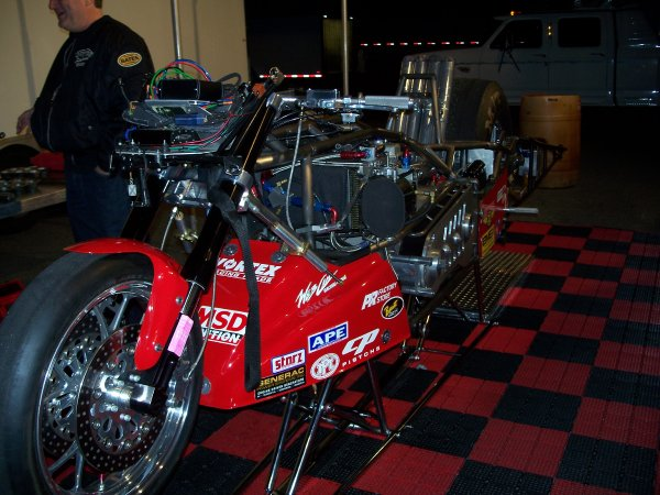 Chris Hand Top Fuel Motorcycle
