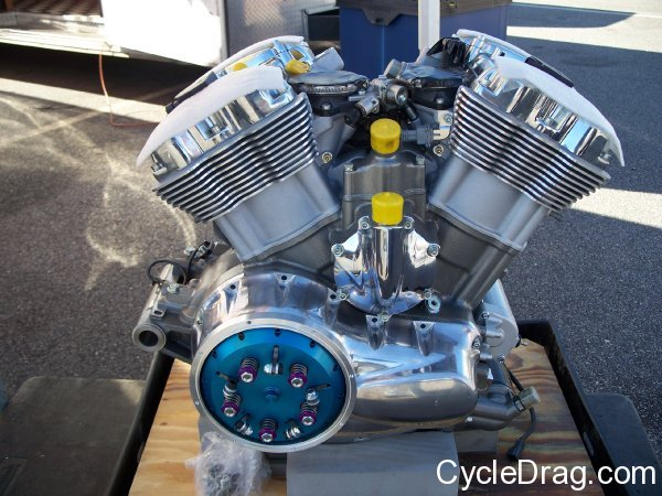 Harley dragbike Engine