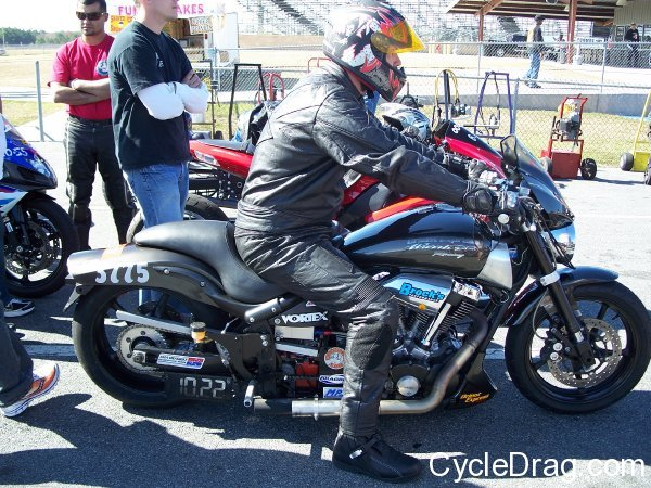 Yamaha Road Star Warrior Drag Bike
