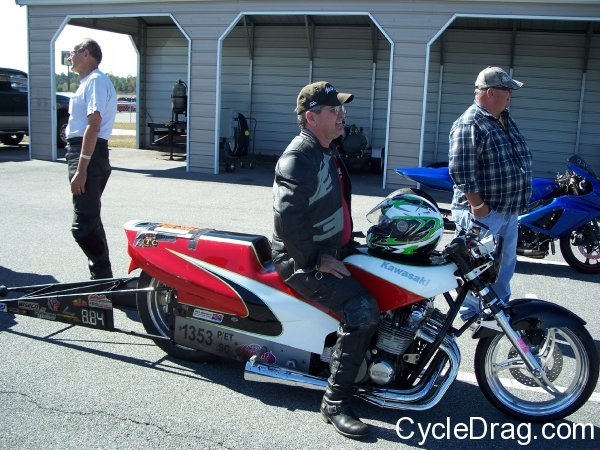 Super Comp Drag Bike