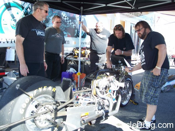 Rich Vreeland Top Fuel Harley