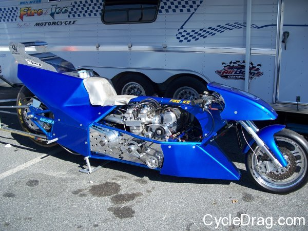 Ron Webb Top Fuel Motorcycle