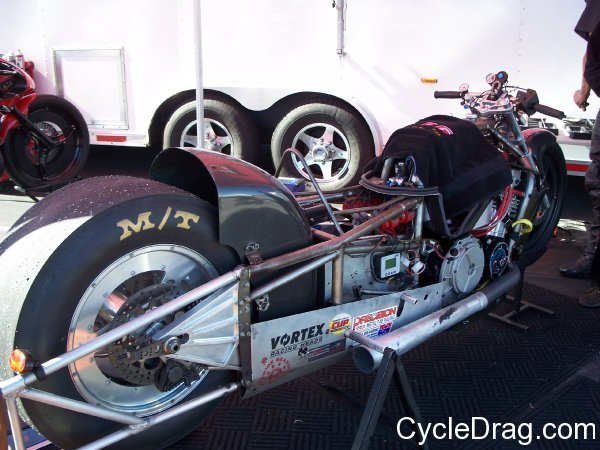 3 second Pro Comp Dragbike