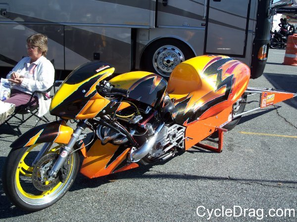 Turbo dragbike