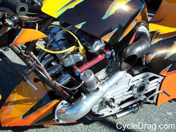 Turbo Charged Dragbike