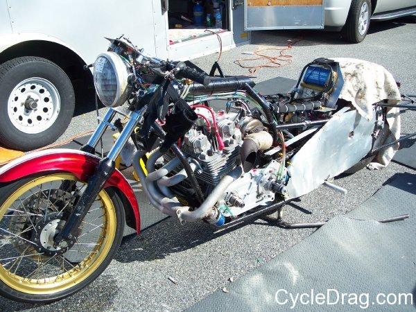 Kawasaki Drag Bike