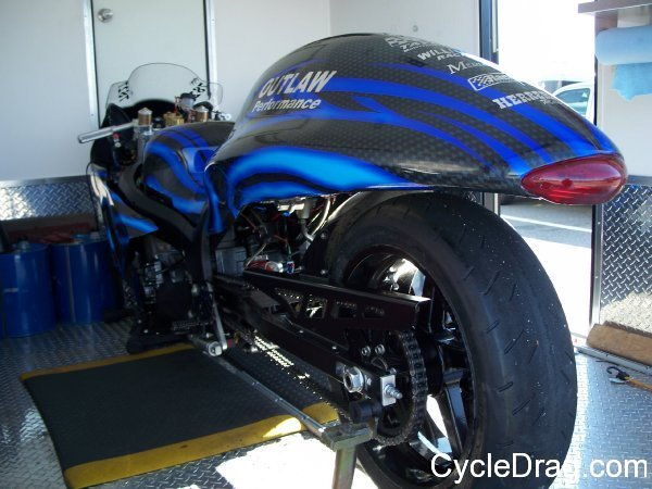 Outlaw Performance Pro Street dragbike