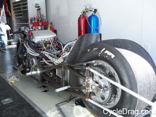 Yves Giard Drag Bike Wiring