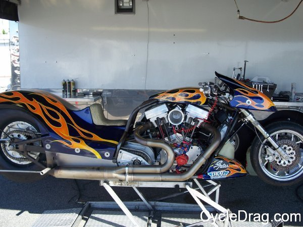 Jay Turner Harley dragbike