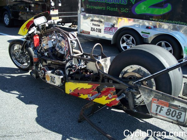 Geoff Pollard Top Fuel Motorcycle
