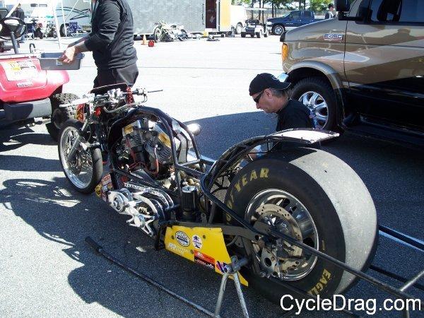 Nitro Harley Dragbike