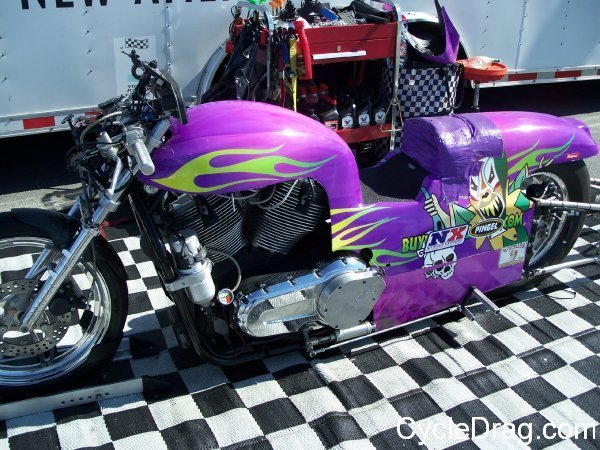 Custom Harley Dragbike