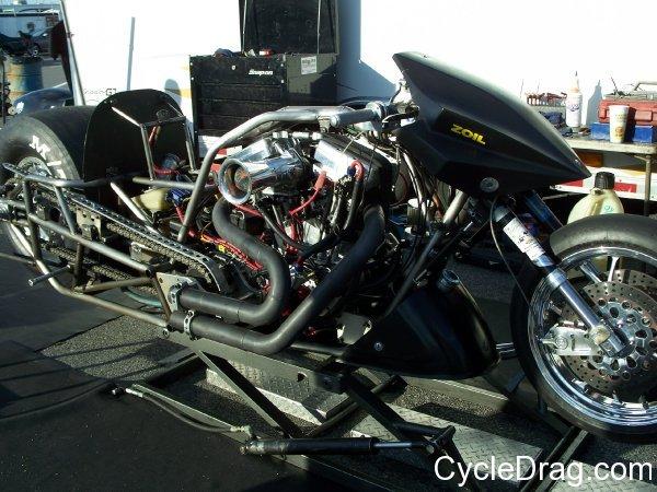 Takeshi Shigematsu Top Fuel Harley
