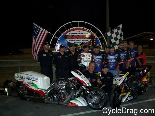 Manufacturers Cup Top Fuel Winners