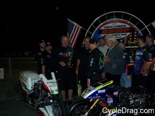 Tommy Grimes Larry McBride Winner's Circle