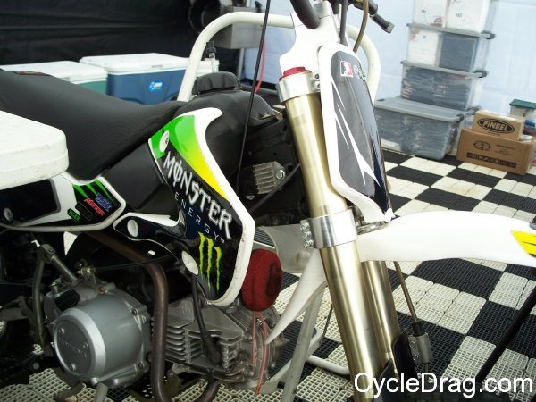 Monster Energy Pit Bike