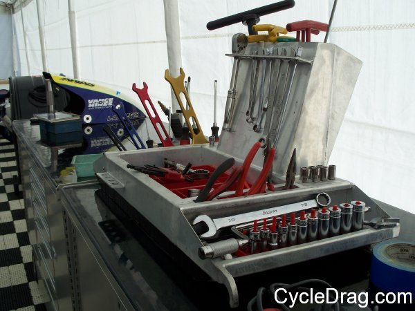 Drag bike racing tools