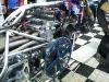 Larry McBride Top Fuel Motorcycle Degree Wheel