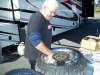 Ron Fish Fish's Customs Dragbike Tires