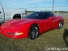 2004 Red Chevy Corvette