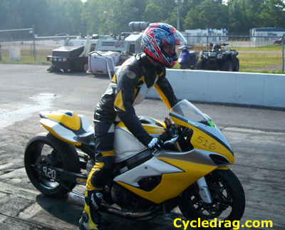 Suzuki GSXR Grudge Bike