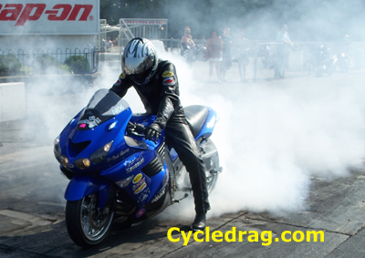D-Tech Racing Blue Kawasaki ZX-14