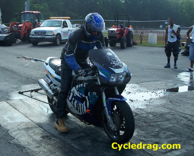 Custom GSXR 1000 Dragbike