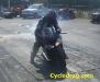 True Street Suzuki Burnout