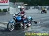 Blue Kawasaki KZ Dragbike