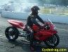 Red MIROCK Grudge Bike