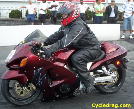 Grudge Red Hayabusa