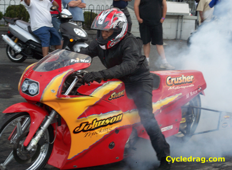 "Bo Diddley's ""The Crusher"" bike"
