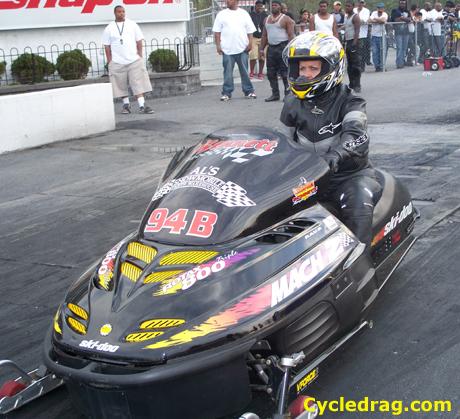 Drag Racing Ski Doo