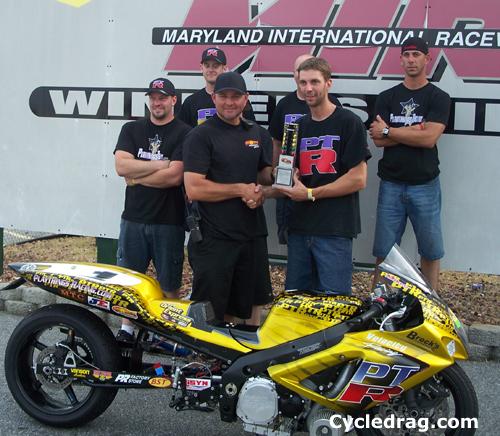 Mike Slowe Jason Miller  Winner's Circle
