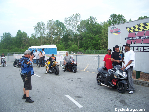 Maryland International Raceway Winner's Circle