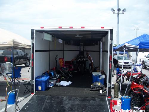 Dragbike Racing Trailer
