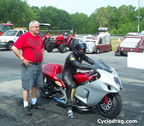 Joe Franco Drag Bike
