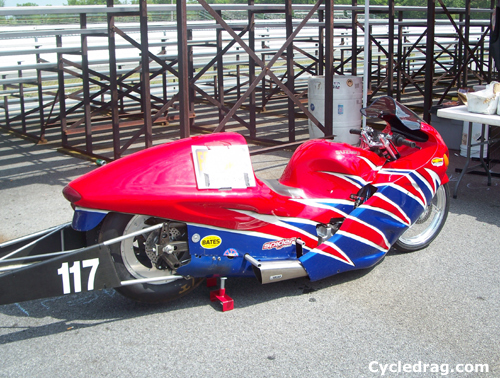 Mike Berry Pro Stock Motorcycle For Sale