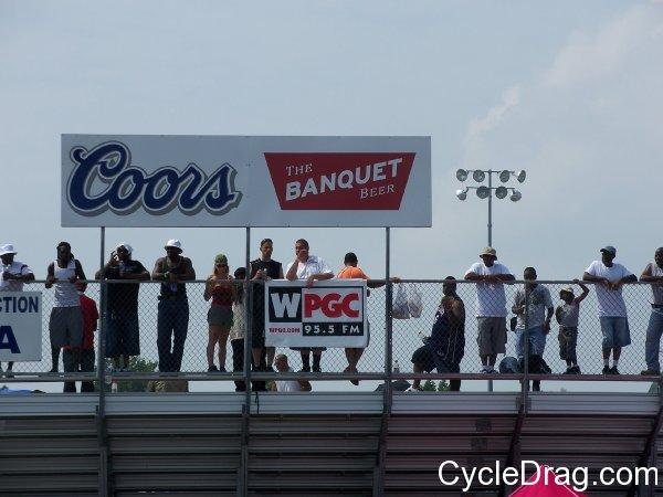 WPGC Bike Fest GrandStands