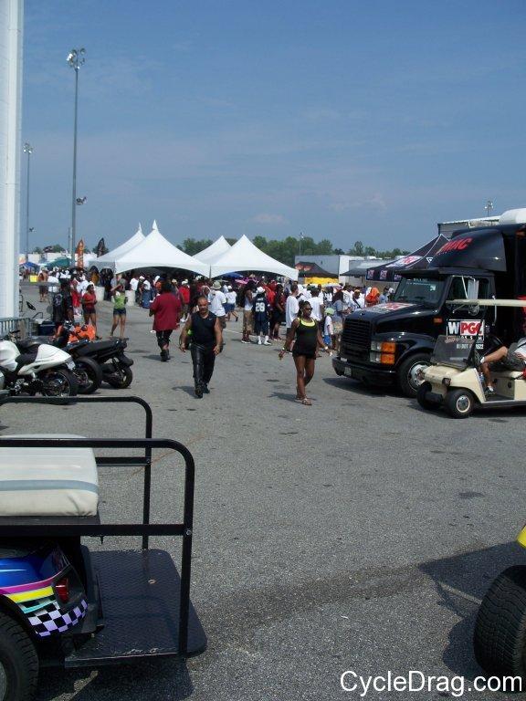 Maryland International Raceway Pits